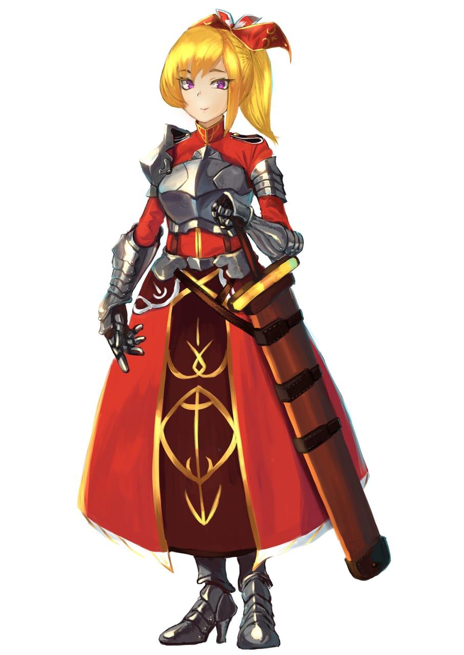 女騎士エミリア Illust of apacchi64 January2021_Contest:OC
