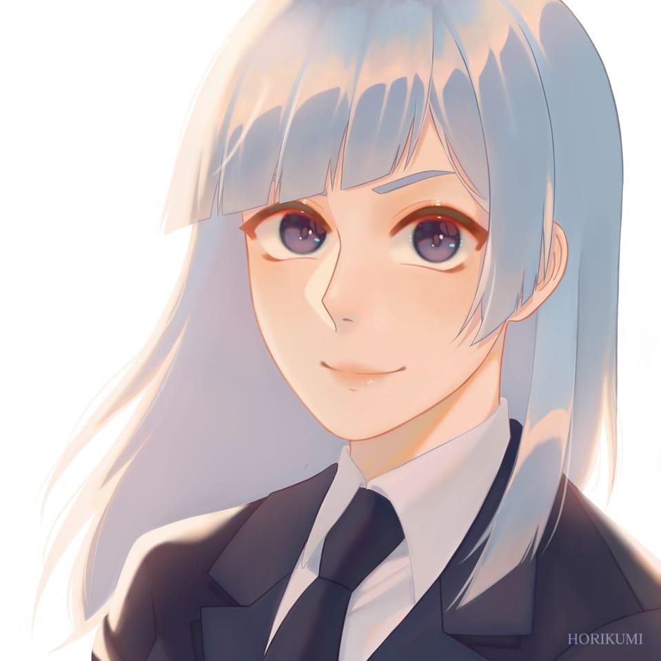 三輪霞 - Kasumi Miwa Illust of Kumi  くみ JujutsuKaisenFanartContest illustration fanart animeart animegirl anime drawing JujutsuKaisen Drawings digitaldrawing