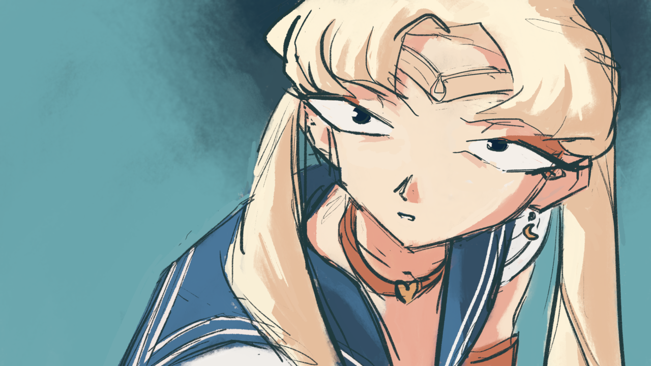 Sailor Moon Redraw 2020 Illust of ReyKomi sailormoonredraw sailor_uniform eyeliner