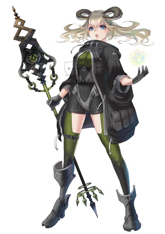 キャラクターデザイン02 Illust of 芦屋ふく