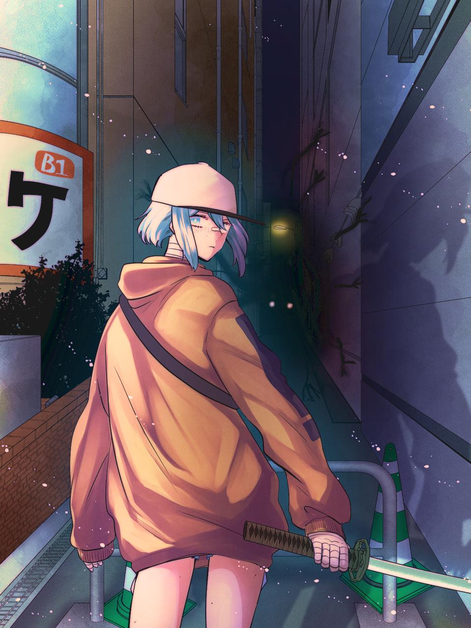「離れといて」 Illust of 前川なごみ January2021_Contest:OC oc