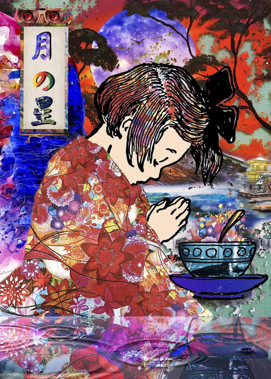 月の星 Illust of 児深虫【ゴミムシ】 April.2020Contest:Color
