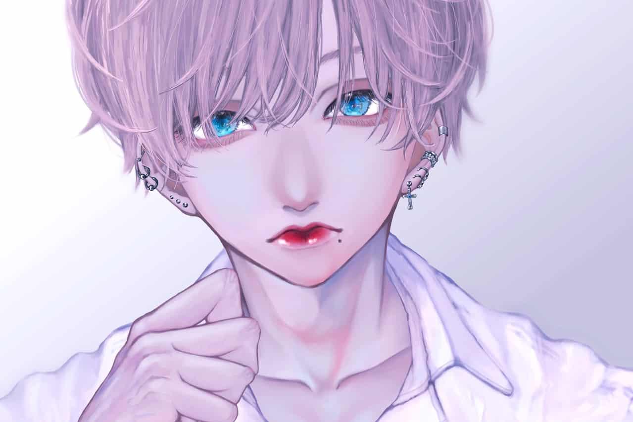 バチバチピアスの男の子 Illust of b2ill boy original oc medibangpaint piercing