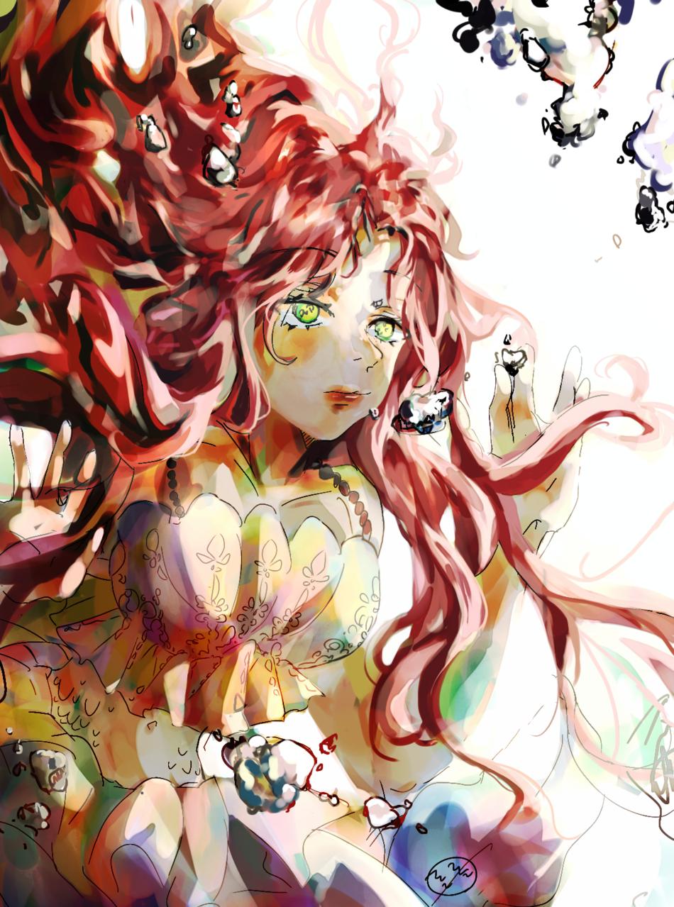 인어공주 Illust of 롤롤 January2021_Contest:OC woman painting mermaid original girl medibangpaint