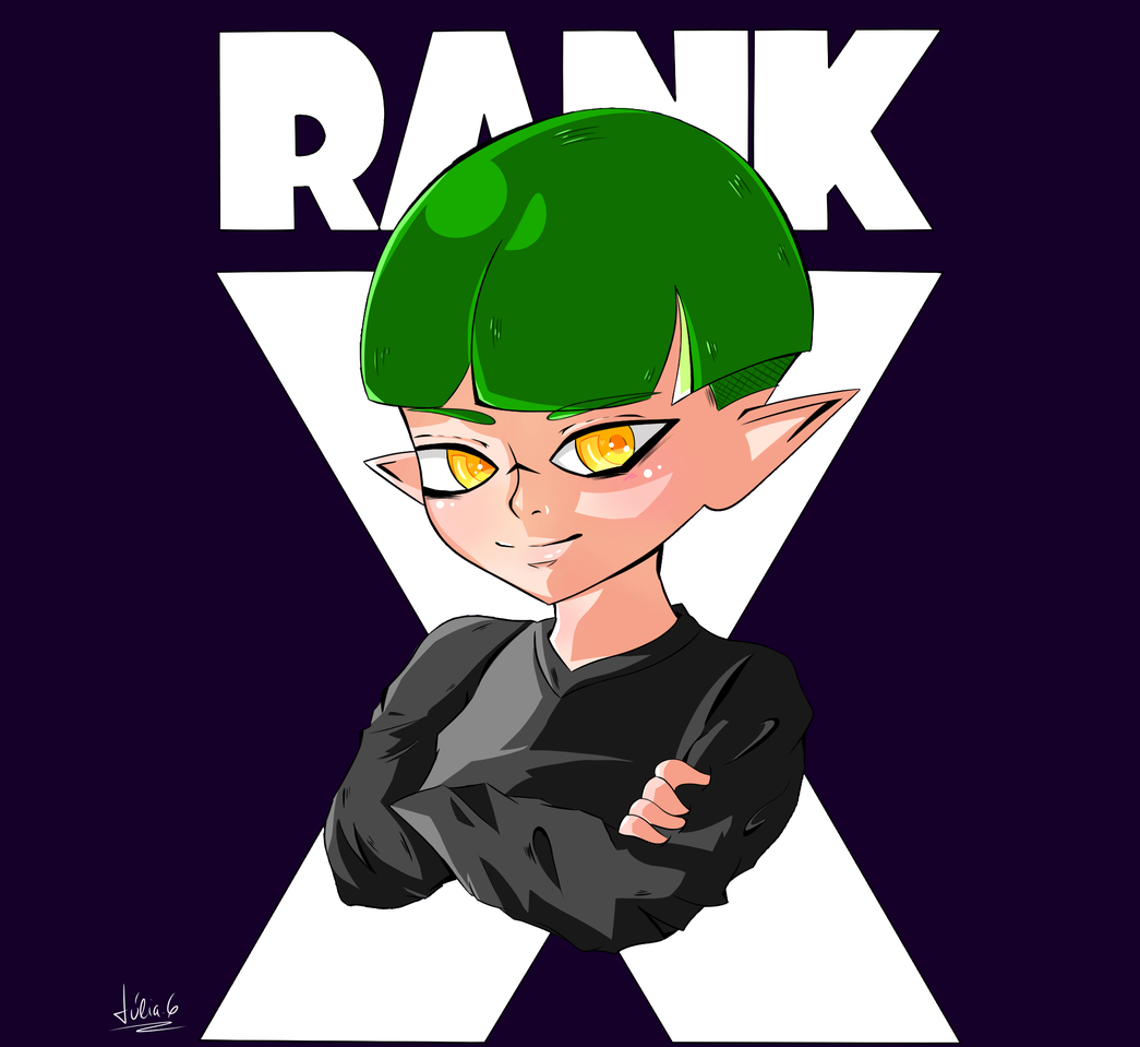 Rank X in Splatoon 2 🦑 Illust of ~Woommy~ medibangpaint Splatoon