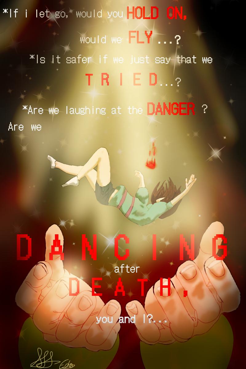 Laughing at Danger, Persisting after Death Illust of Savanna Simmons Frisk fanart Frisk&Chara UndertaleAU Chara undertale FriskUndertale friskundertale