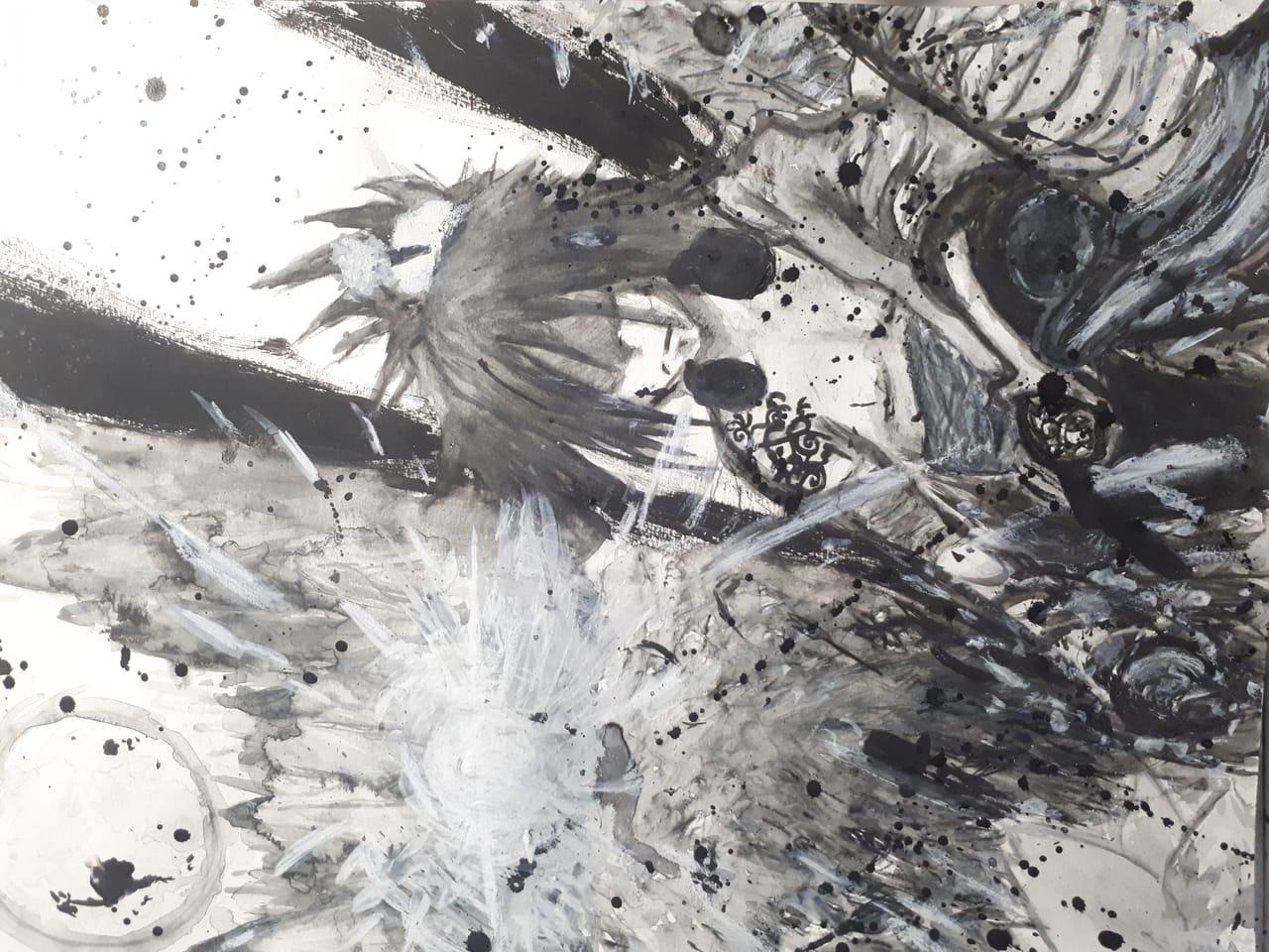 Punk Samurai Illust of Ookami February2021_Fantasy