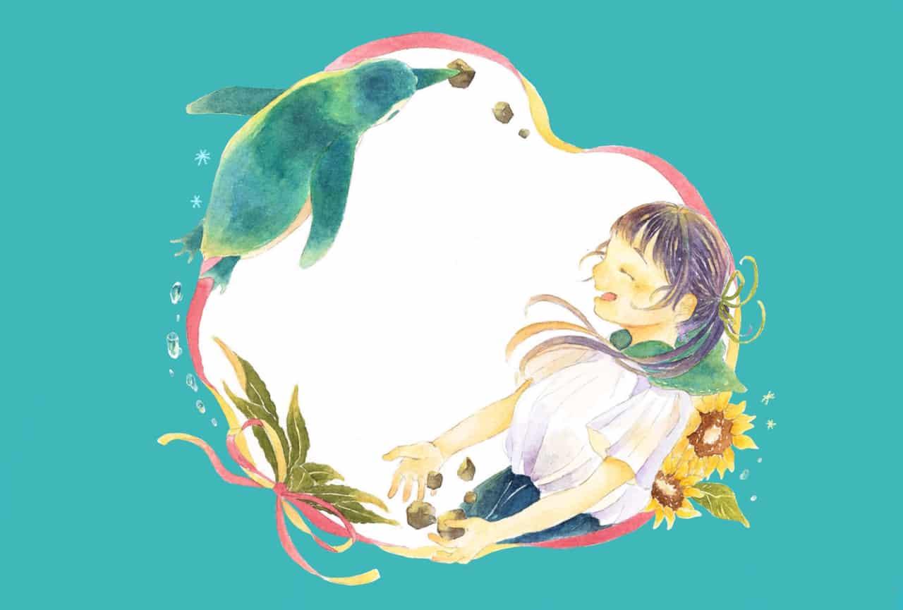プロポーズ Illust of 日向むぎ ひまわり girl Penguin summer
