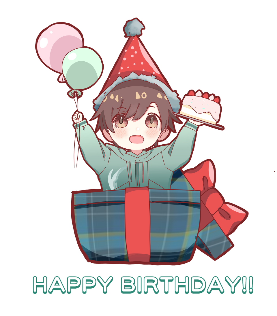 it was a birthday gift for my friend. whippppp Illust of Fari boy