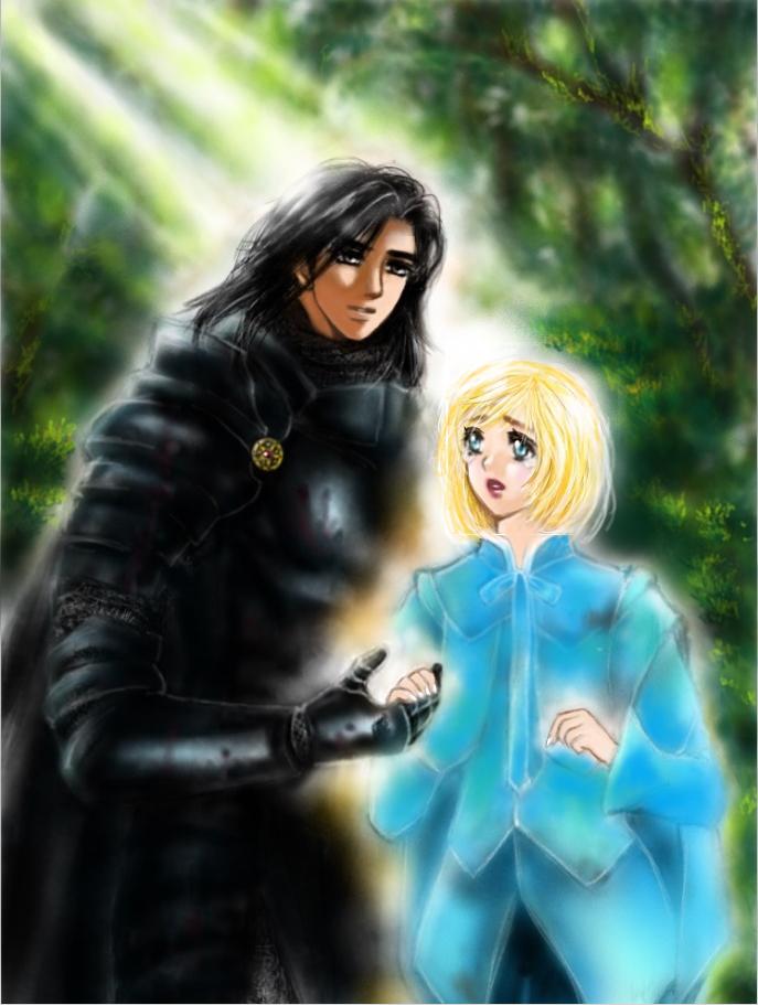 異世界の王女と騎士