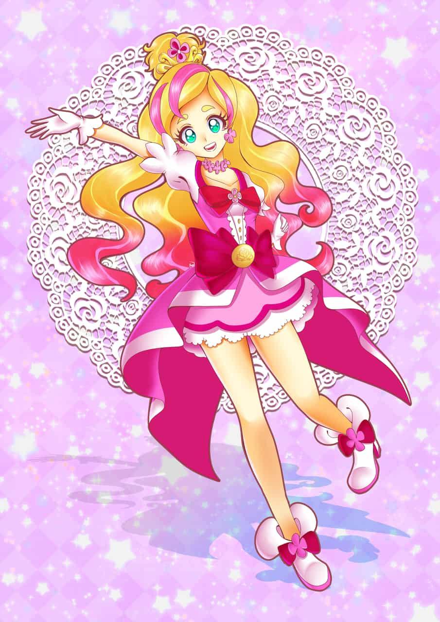 Go!プリンセスプリキュア Illust of poppyrous キュアフローラ PrettyCure キュアスカーレット Go!プリンセスプリキュア キュアトゥインクル キュアマーメイド