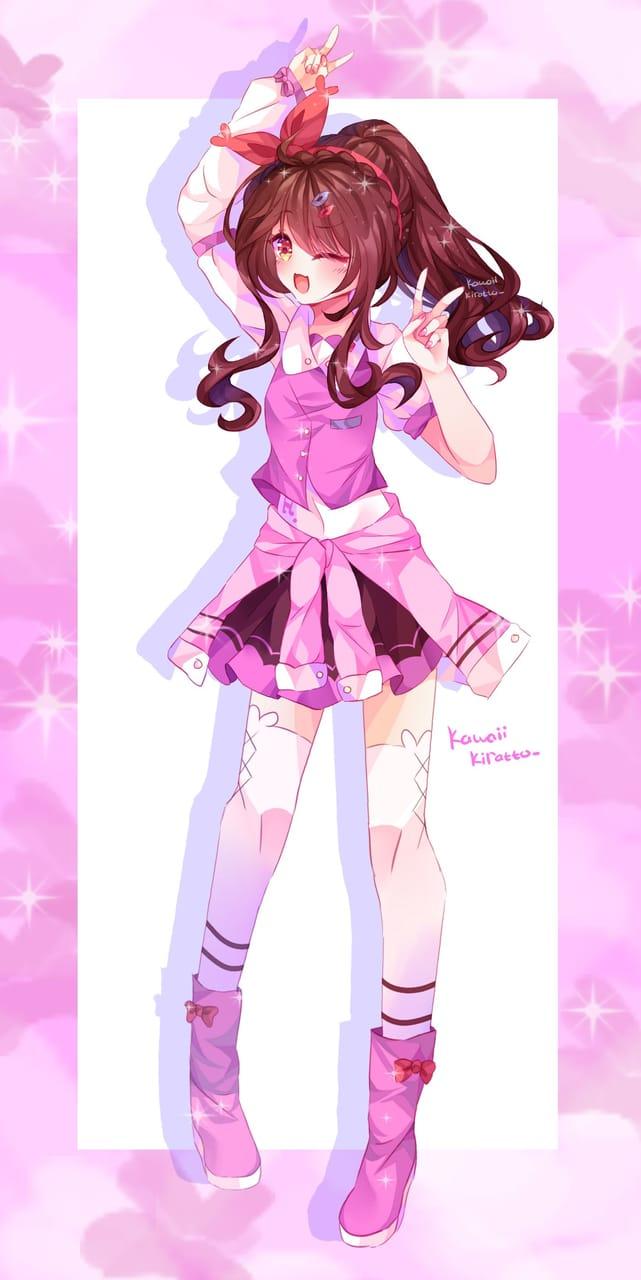 Cheerful~! Illust of KawaiiKiratto105 artist illustration Artwork art originalwork