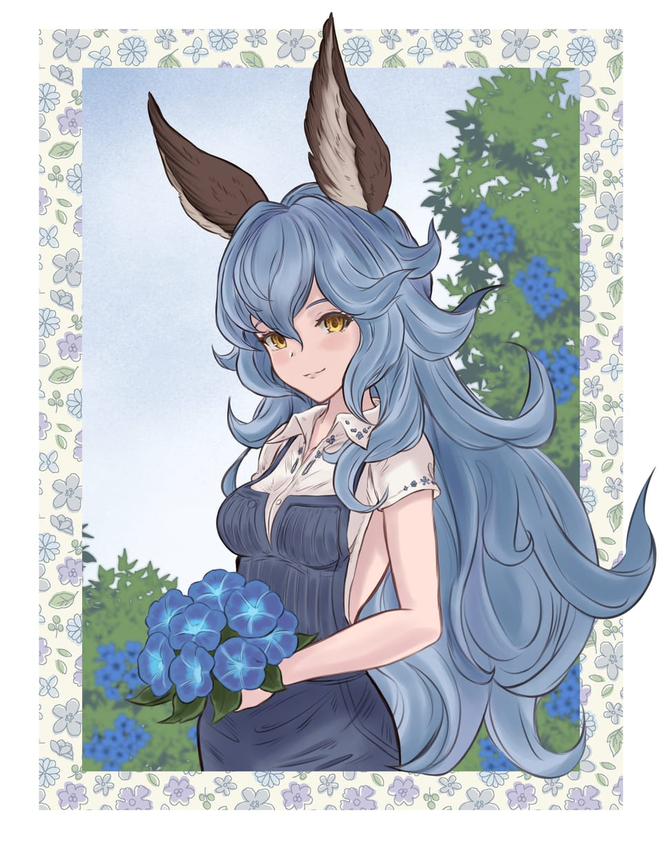 Ferry Flowers Illust of Drizzy フェリ flowers ferry GRANBLUEFANTASY