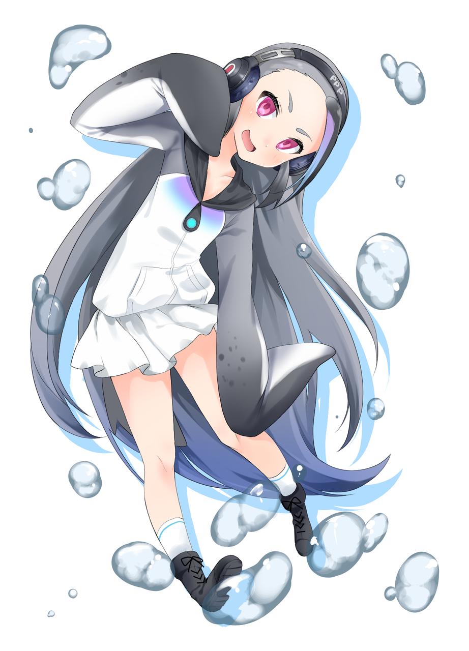 ジャイアント先輩 Illust of いちごうさぎ medibangpaint けものフレンズ(ジャイアントペンギン)