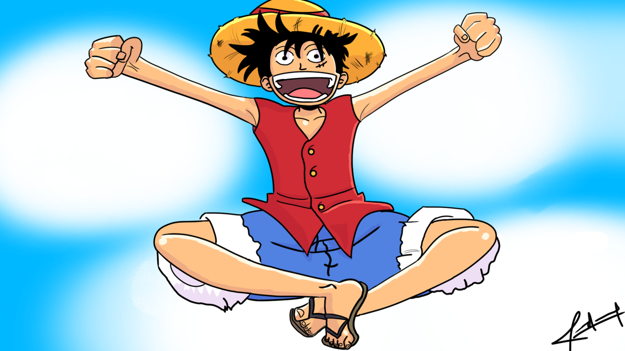 Luffy Illust of Checho ONEPIECE Luffy