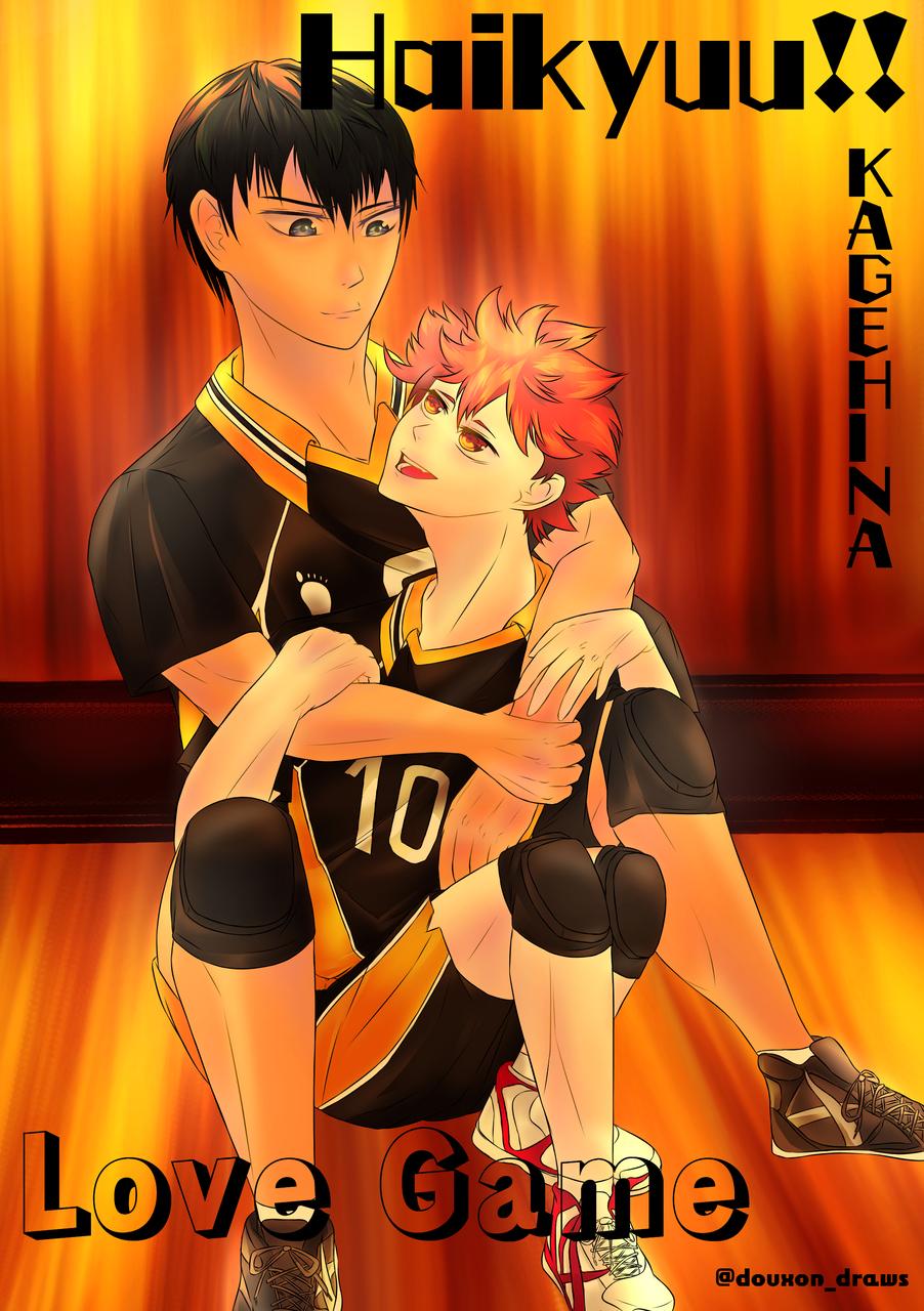 KageHina- Haikyuu!! Illust of DouXoN BL ARTstreet_Ranking anime Hinata kageyama Haikyu!! Kagehina MediBang