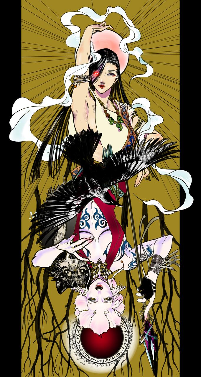 カラスの姿の Illust of 吾桑 medibangpaint エリア51