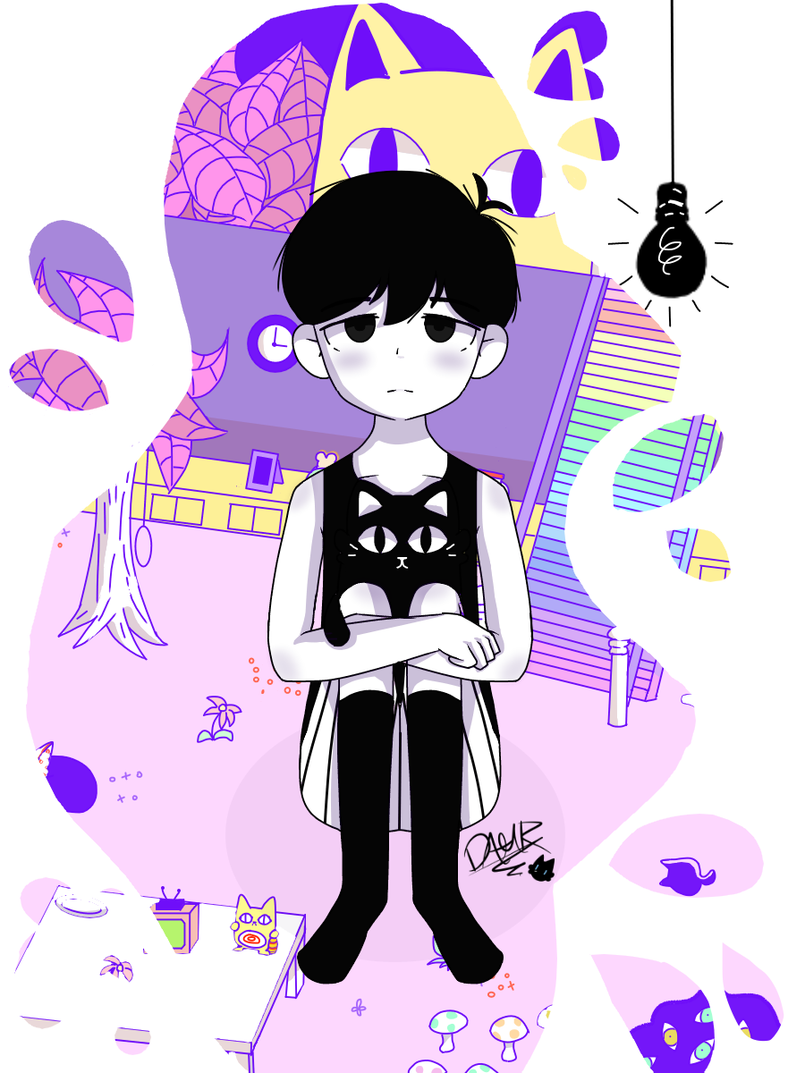Omori Dany Kyucat Illustrations Art Street