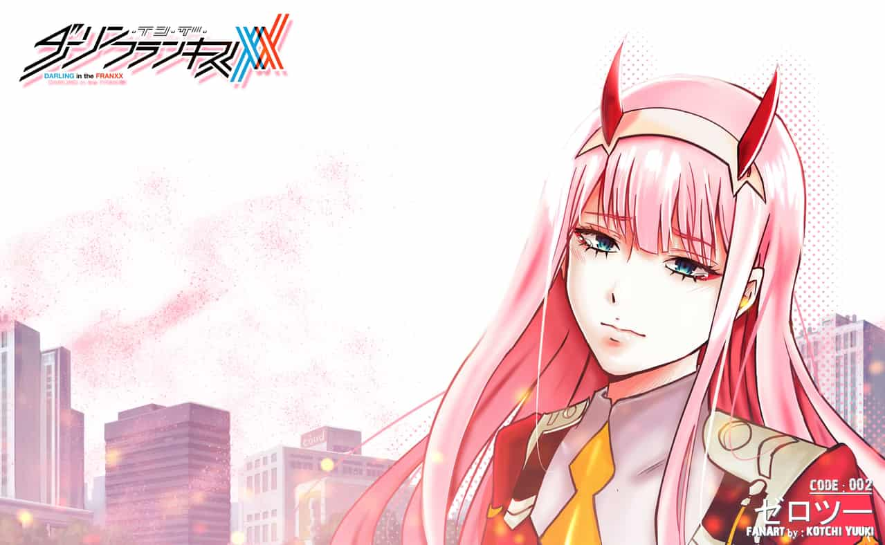 Zero Two Wallpaper 25 Kotchiyuuki Ilustraciones Art