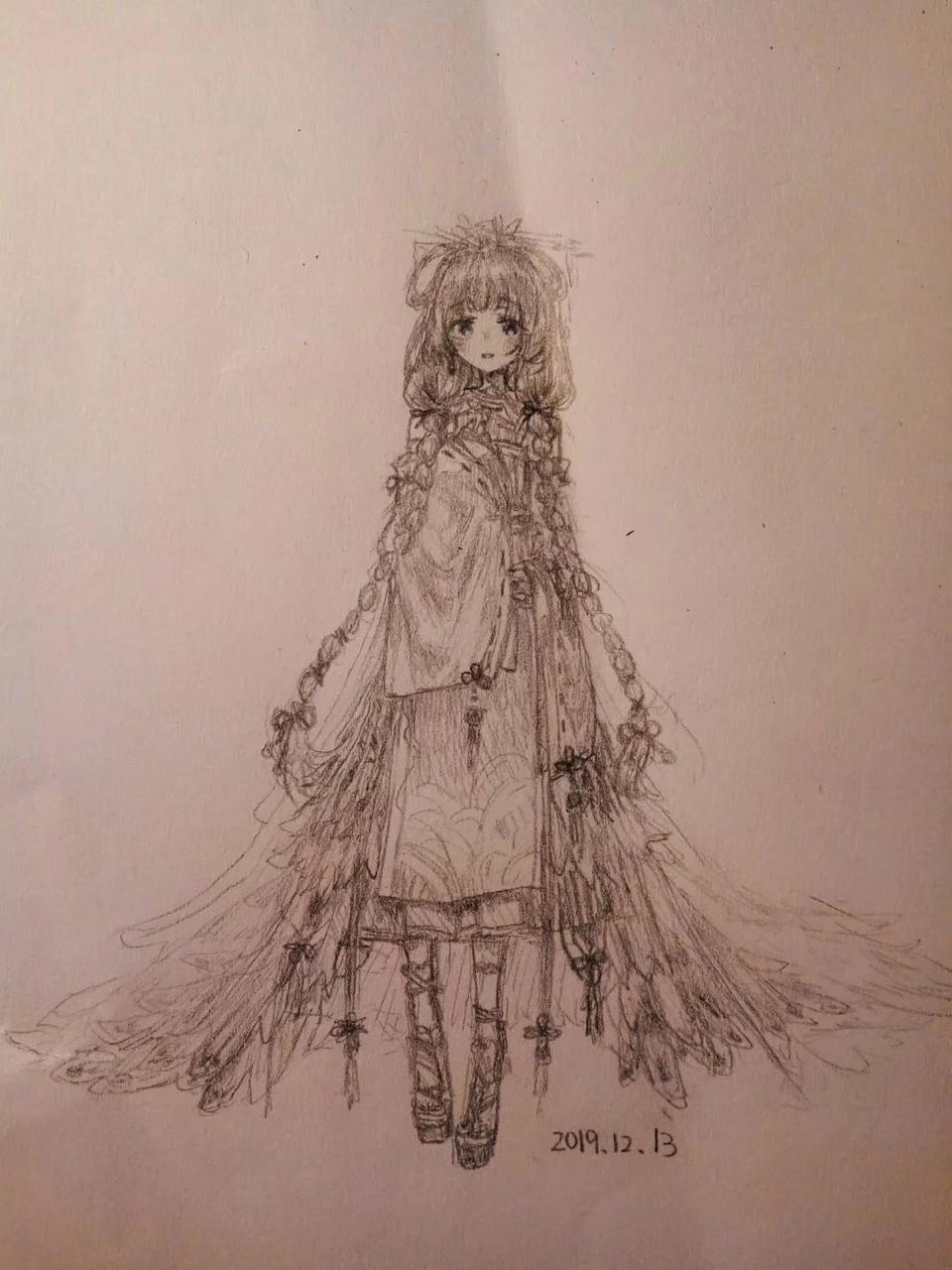 凤求凰 Illust of 几鹬 medibangpaint original