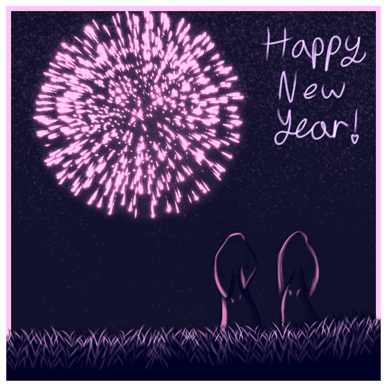 Happy New Year!  Illust of Faven newyear 2021