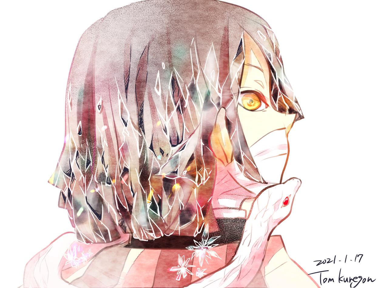 伊黒さん Illust of とむくれそん IguroObanai KimetsunoYaiba ice