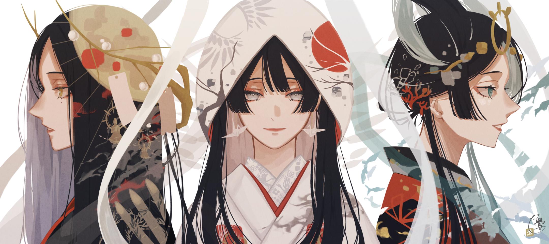 夢か現か幻か Illust of 鷽 Japanese_style original
