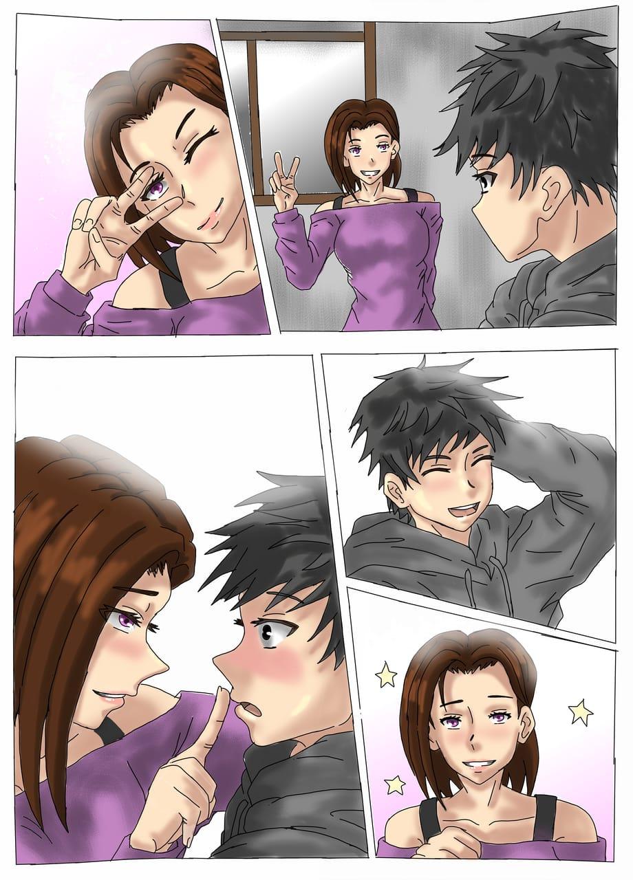 Not feeling it today. Illust of Yuri Black Zero romance painting Panel medibangpaint illustration Page