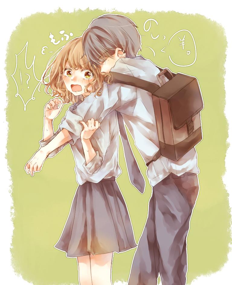 もふもふ羊 Illust of さきら shoujo_illustration schooluniform 高校生 original