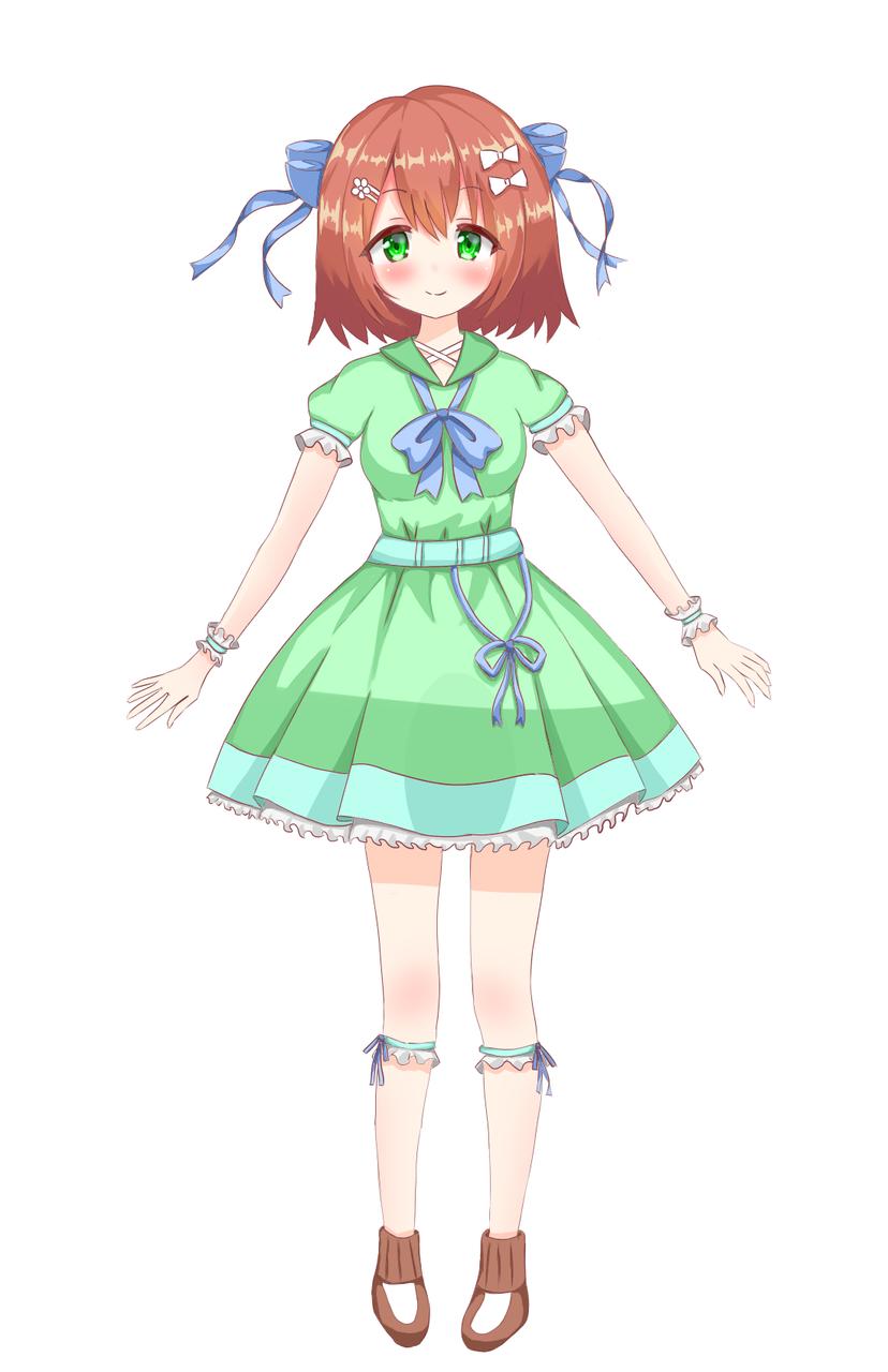 キャラクター立ち絵2 Illust of いぬぴん medibangpaint
