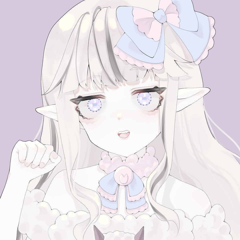 Illust of 太白 medibangpaint ribbon girl