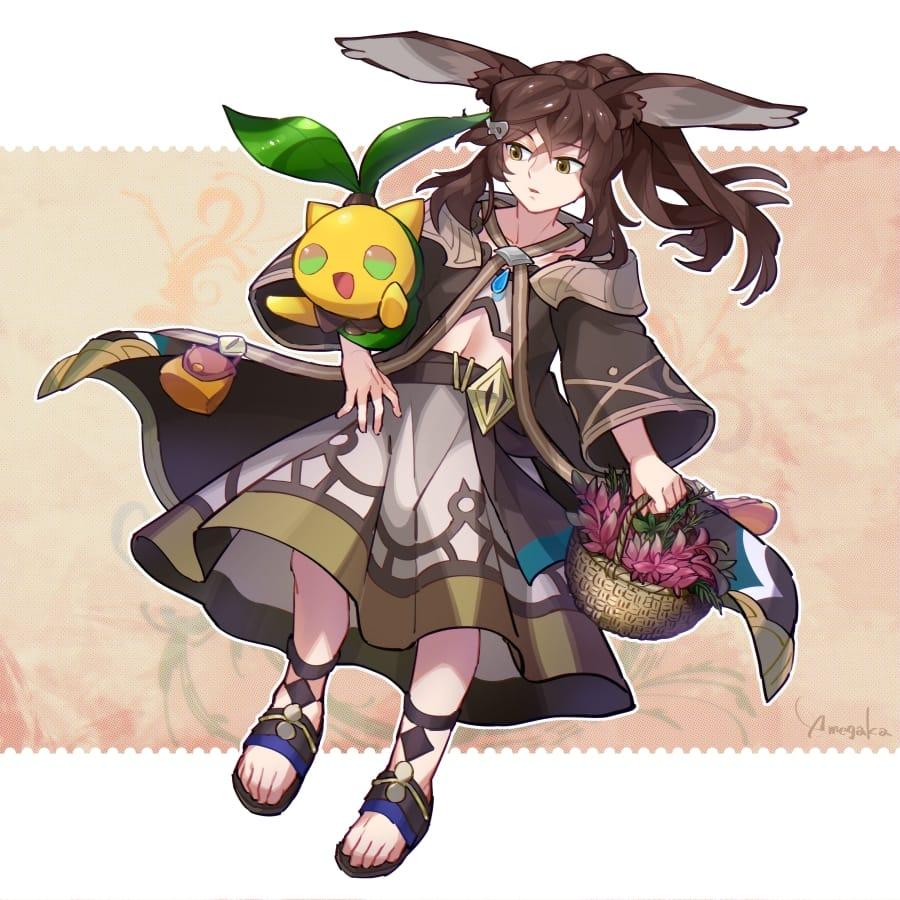 It's a vegetable, not a herb! Illust of 芽ヶ可ゆい fanart DragaliaLost