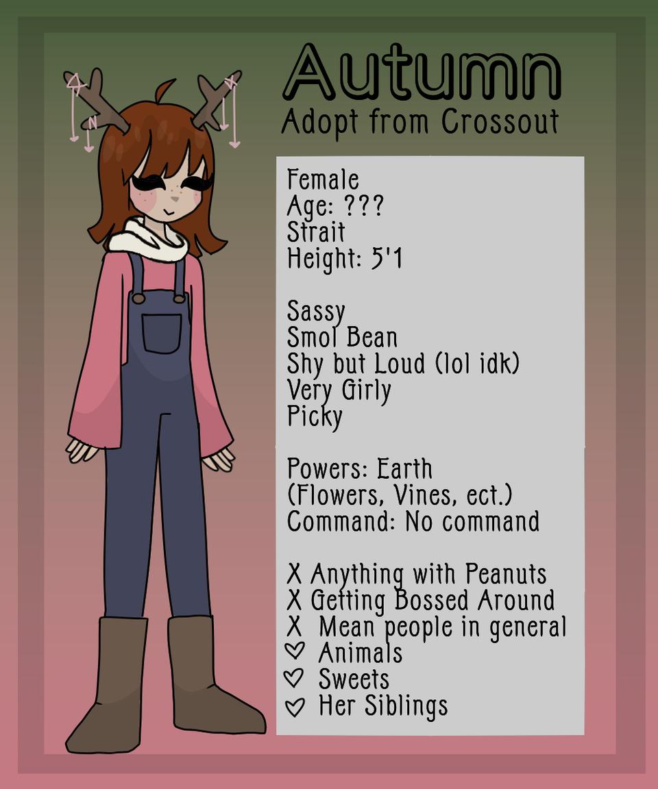 Autumn!  Illust of Maehem medibangpaint oc cute CrossOut adopt deer