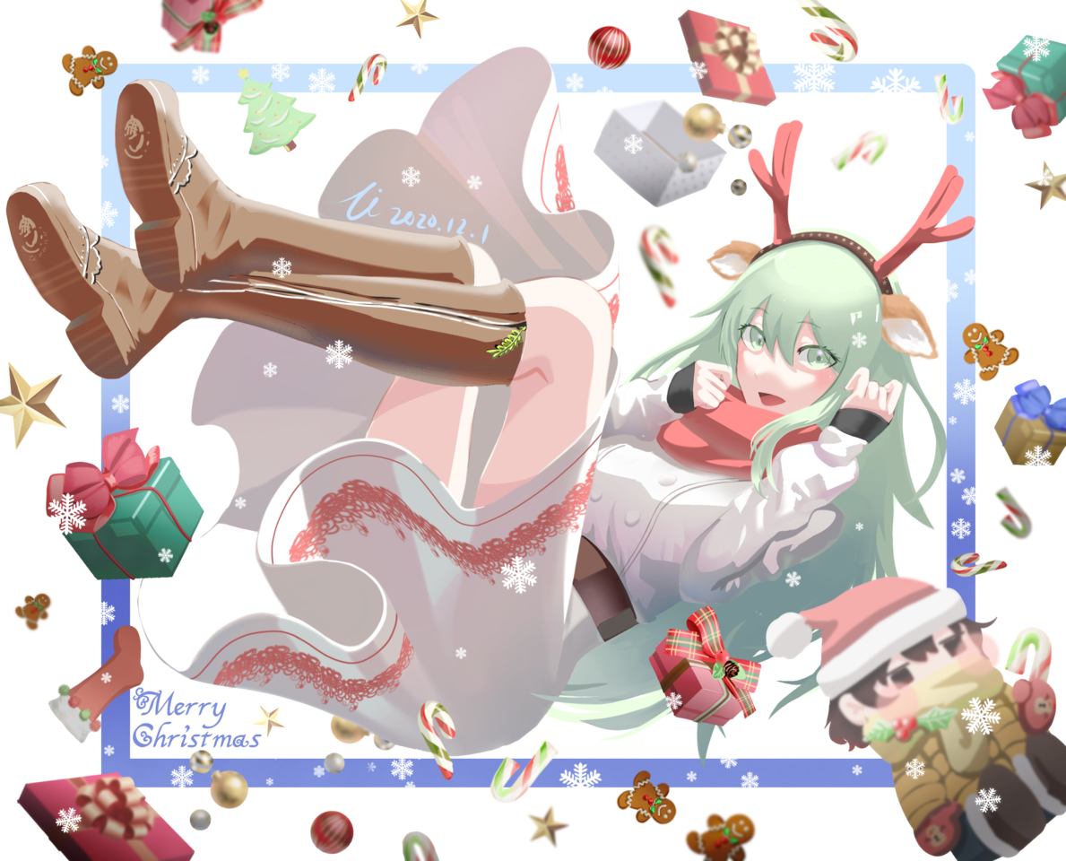 聖誕小物 Illust of Zi December2020_Contest:Santa Christmas original oc
