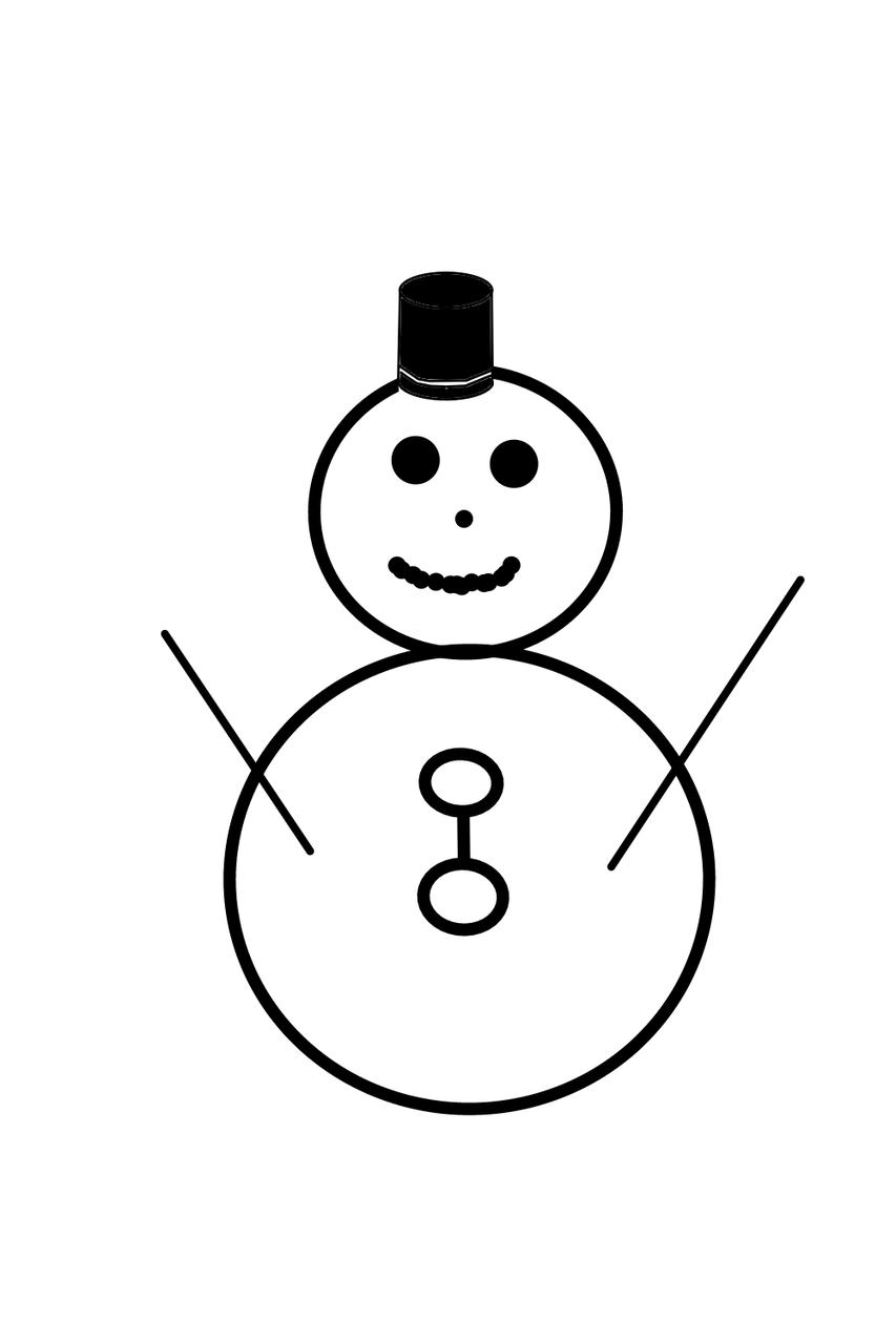 雪だるま☃ Illust of いぬぴん medibangpaint