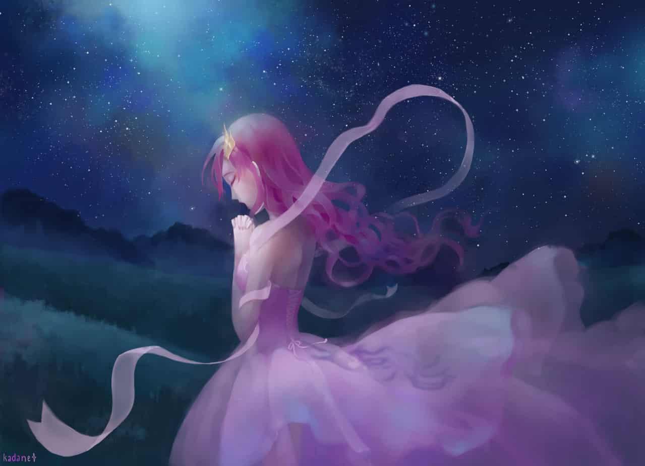 Fields of Hope [1st draft] Illust of Pink.Crystal110 Anime-art art Gundam-Seed Anime-girls GUNDAM Gundam-Seed-Destiny Lacus