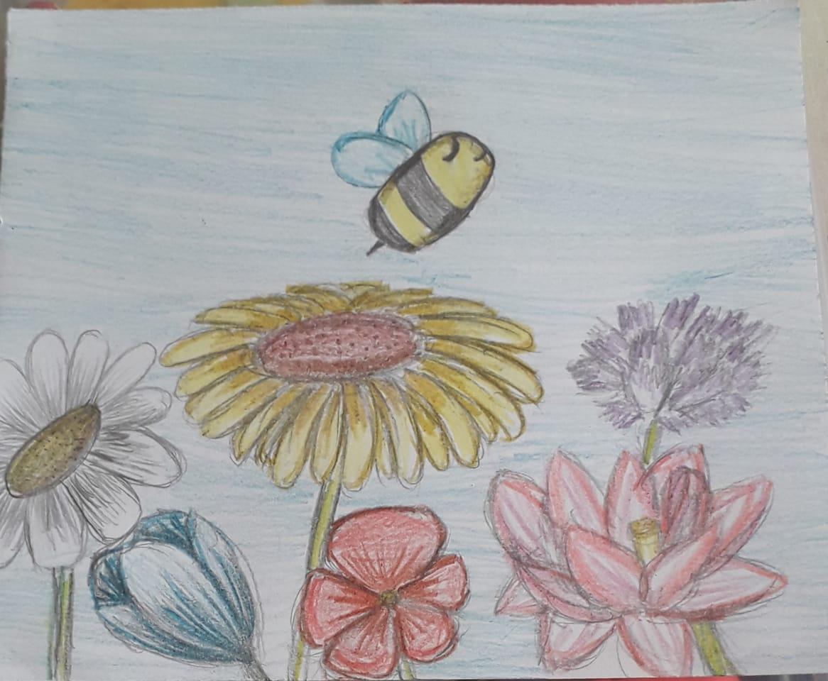 Illust of Andiartist April2021_Flower