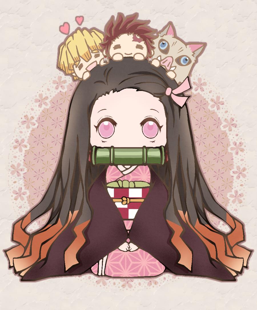 禰豆子(+かまぼこ隊) Illust of 桜魚館 DemonSlayerFanartContest KimetsunoYaiba