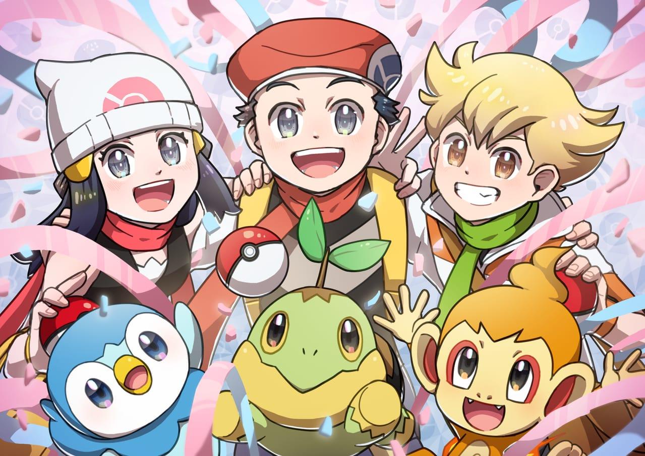 シンオウトリオ Illust of 日夏なつお pokemon ポケモンDPt