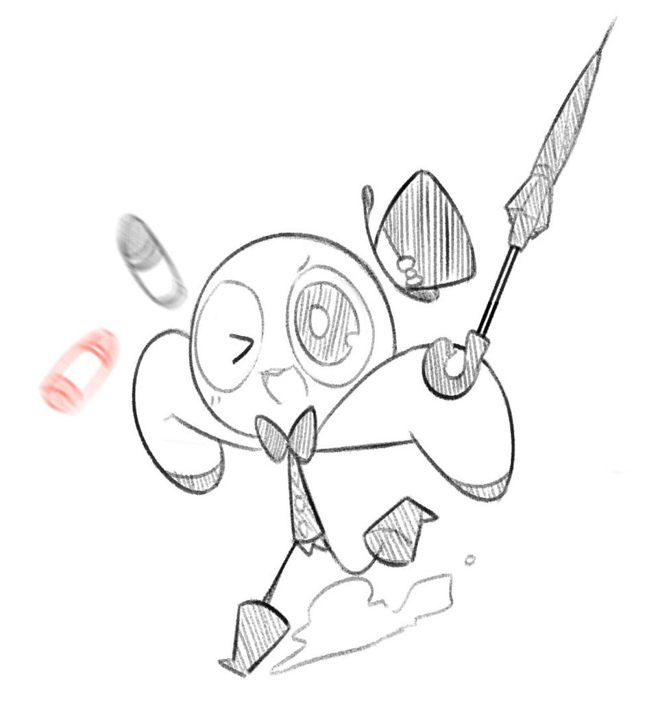 두두ㅜㄷ Illust of Ellie🎗 두두 oc DooDoo