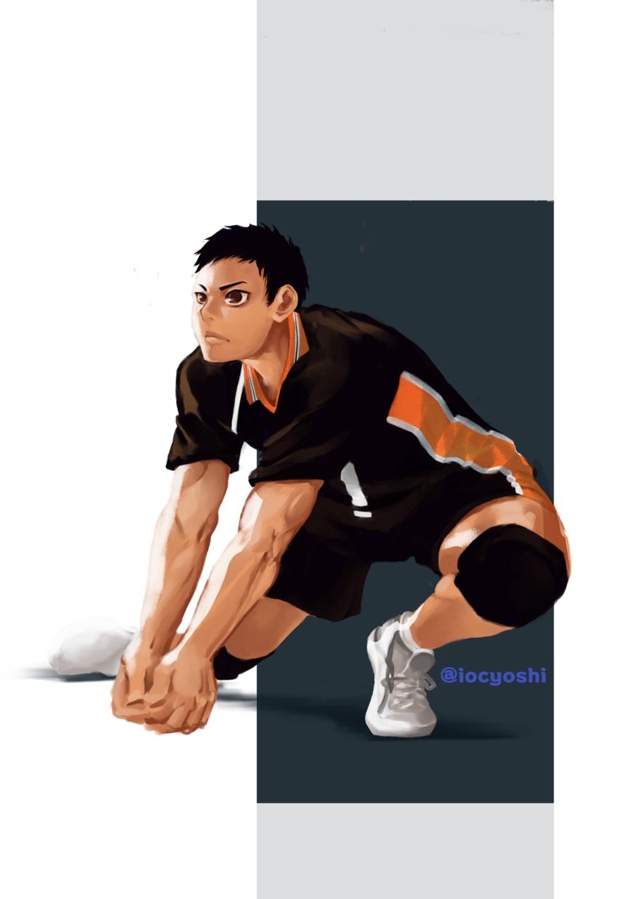 Sawamura Illust of iocyoshi medibangpaint shounen Haikyu!! sportsmanga Volleyball Sawamura