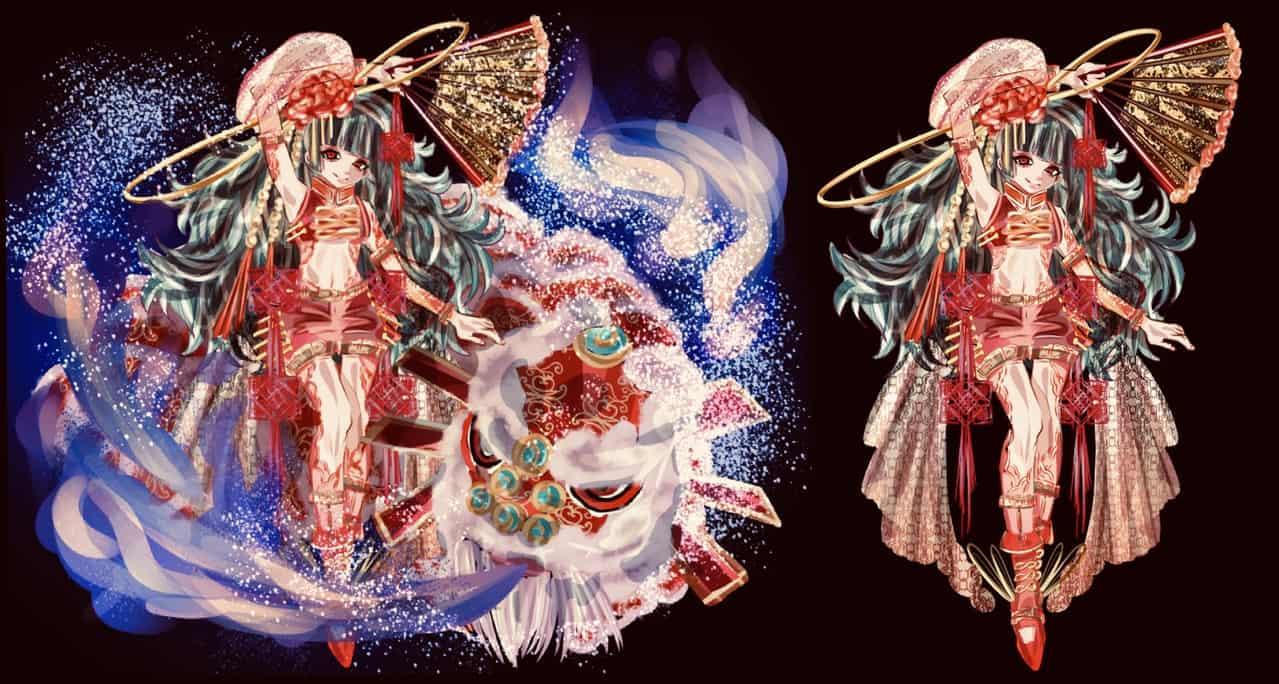 うちのこ Illust of 雪野 oc girl 中華娘 original