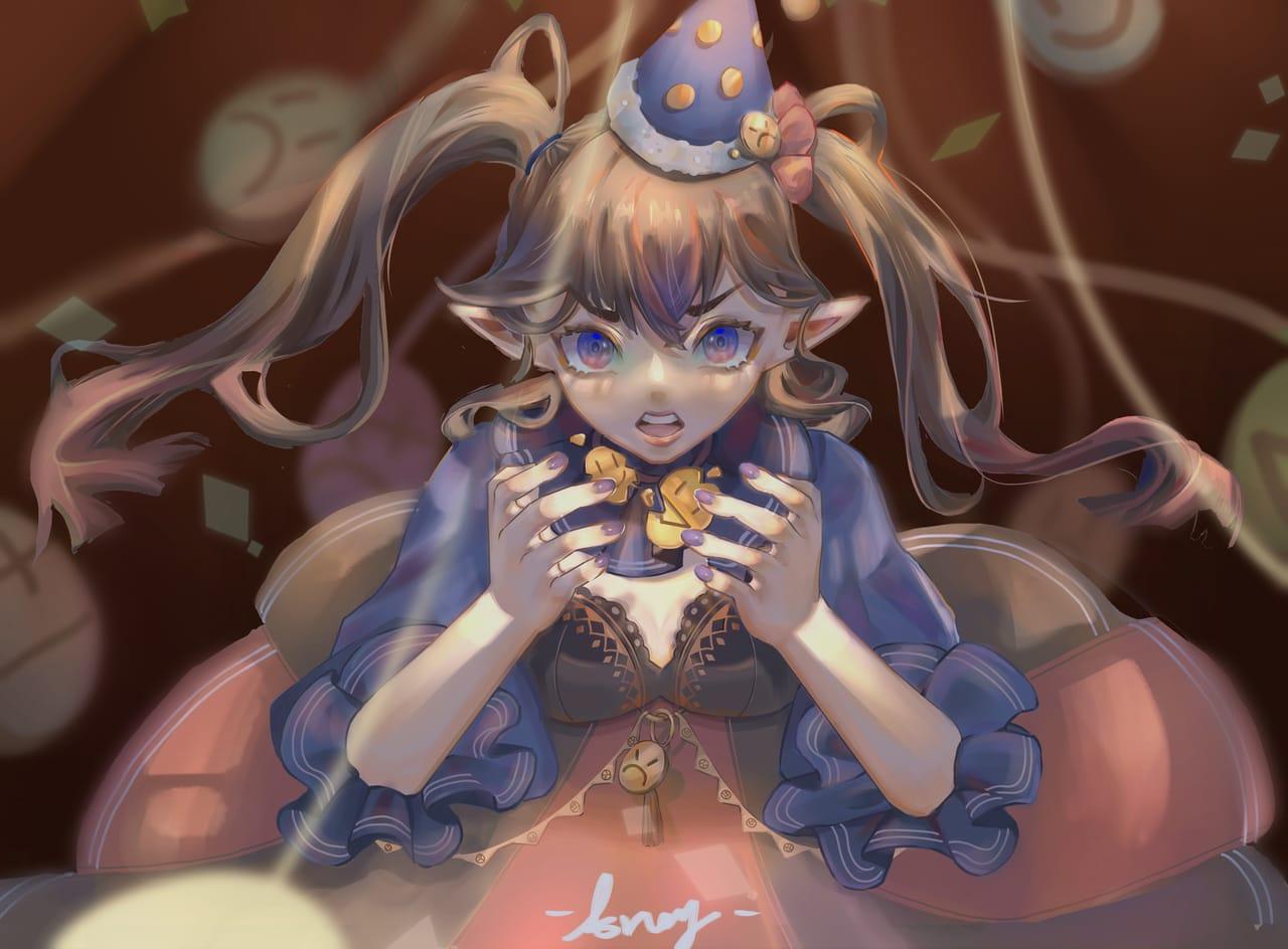 怒 Illust of ARRRRRRY January2021_Contest:OC illustration painting Drawings doodle drawing paint