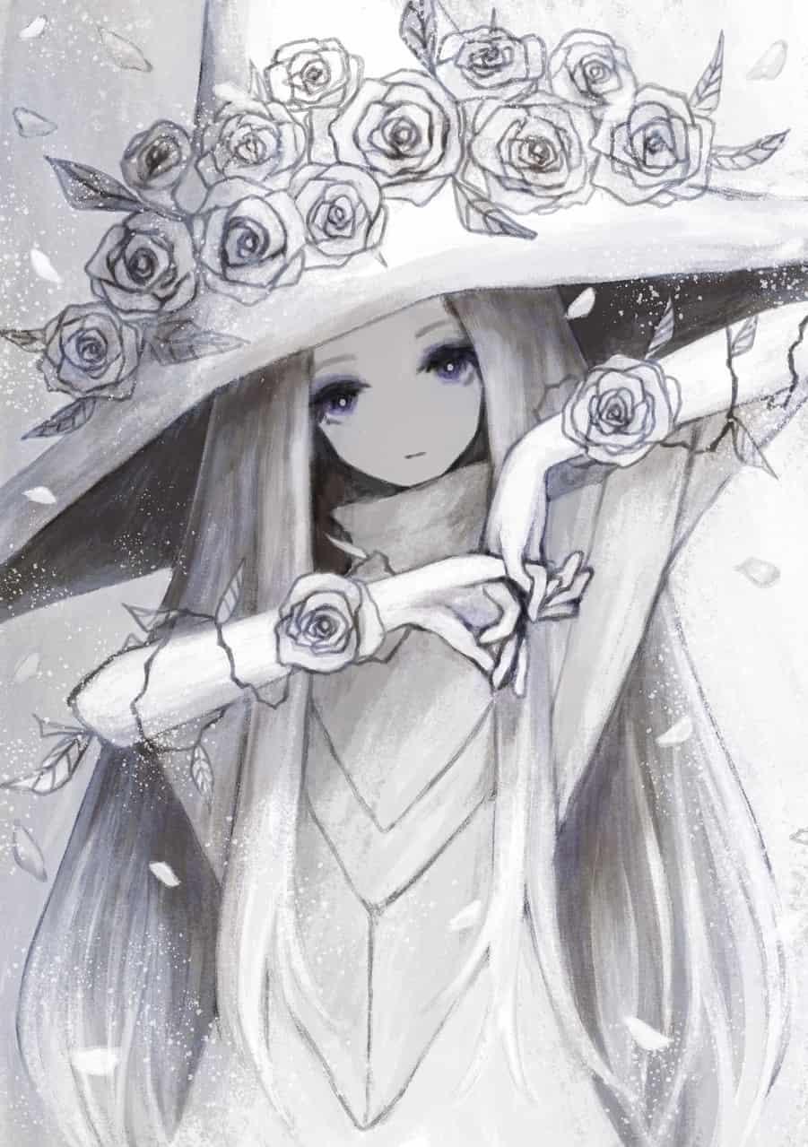 白い薔薇の魔女
