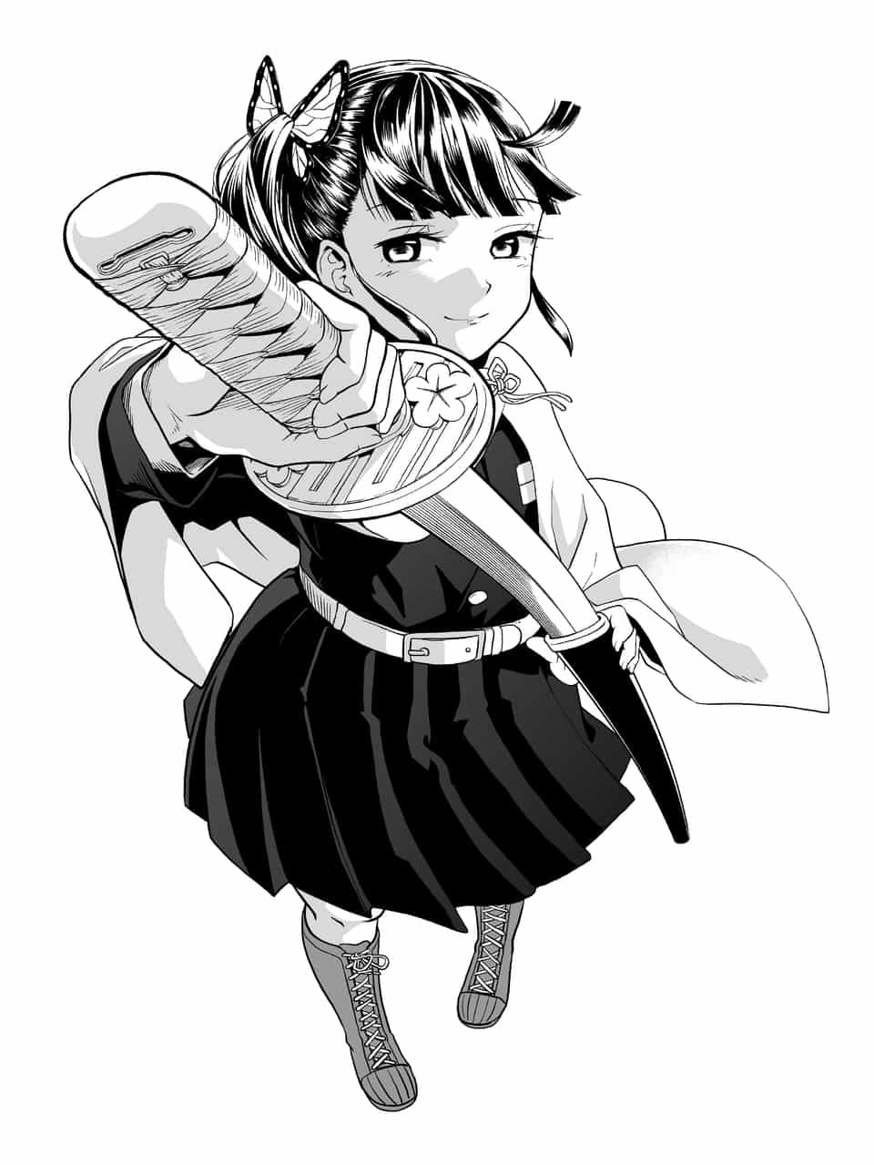 Kanao Illust of 앵무새 DemonSlayerFanartContest KimetsunoYaiba TsuyuriKanao