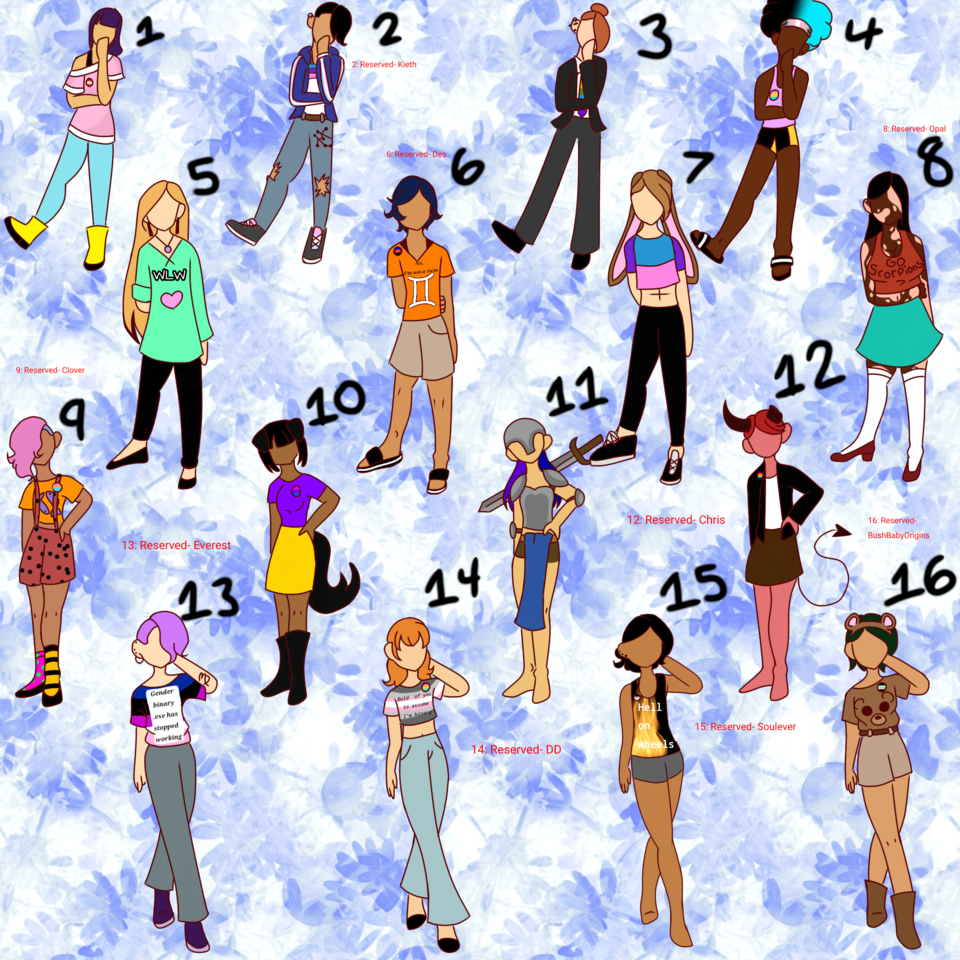 ADOPTS! Illust of Soccs   ✨~Tubbo Mode~✨ adopts cute FollowerSpecial digital