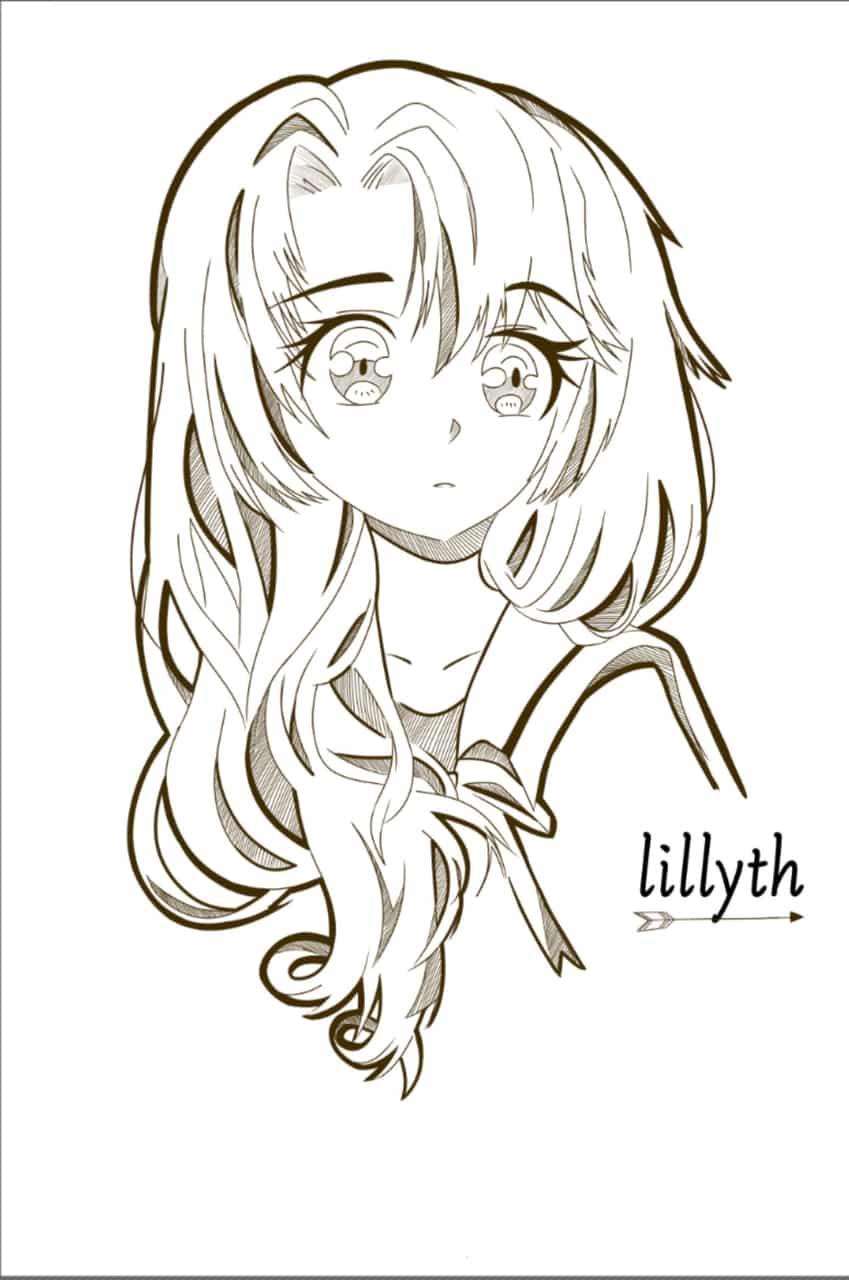 Lillyth Illust of Black panther Digital_Fireworks