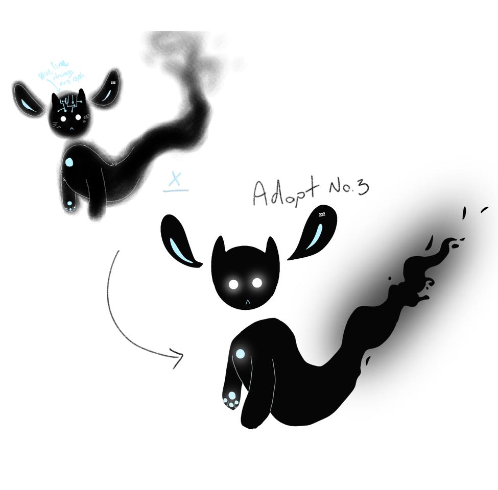 redraw adopt no. 3! Illust of Sleepyxx (DEAD ACCOUNT) medibangpaint adopts