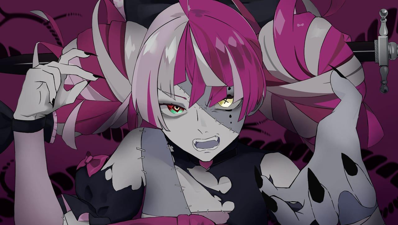 ボッカデラベリタ Illust of Akki virtual_YouTuber eyes HololiveID hololive zombie Kureiji_Ollie ボッカデラベリタ