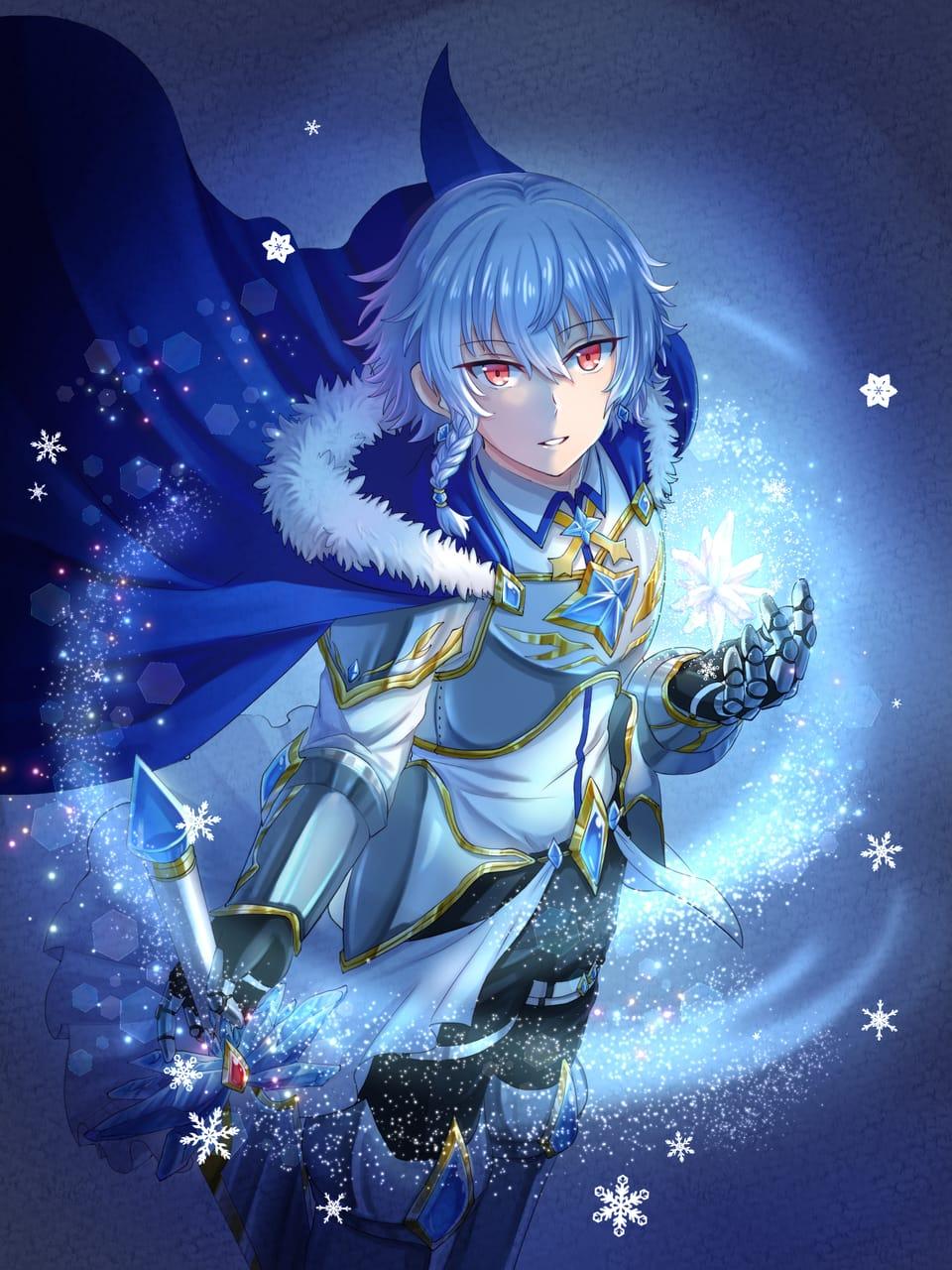 雪之夜 Illust of 蒼龍えど fantasy February2021_Fantasy snow
